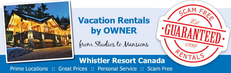 Whistler Vacation Rentals by Owner for Film Festival
