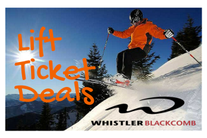 Lift Ticket Deals Whistler