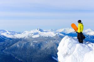 Ski Yellow Jacket